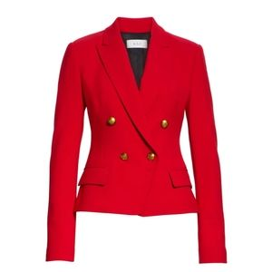 🔥A.L.C. Red Hendrick Double Breasted Blazer